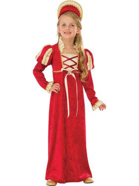 Medieval Princess Girl's Costume
