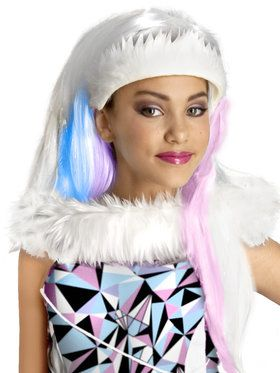 Monster High Abbey Bominable Kids Wig