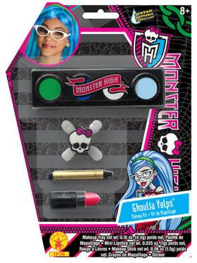 Girls Monster High Ghoulia Yelps Makeup