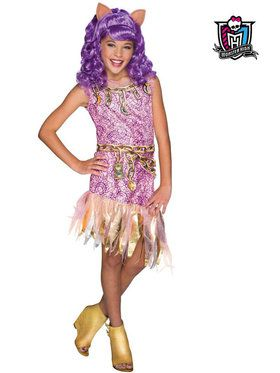 Monster High Girls Haunted Clawdeen Wolf