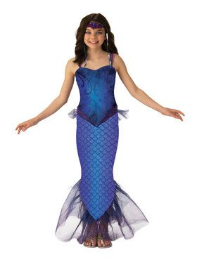 Mysterious Mermaid Costume for Girls