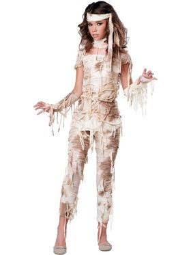 Girls Mysterious Mummy Costume