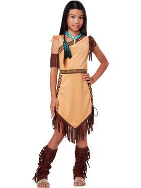 Girls Native American Beauty Costume