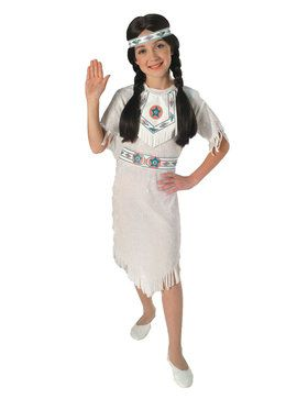 Girls Native American Princess Child Costume