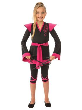 Ninja Girl Kid's Costume