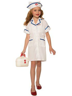 Nurse Girls Costume