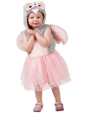 Girls Odette the Owl Child Costume