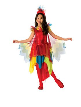 Parrot Costume for Girls
