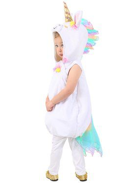Girls Pastel Unicorn Child Costume