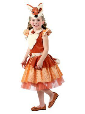 Girls Peace the Pretty Fox Costume