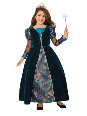 Peacock Princess Costume for Kids