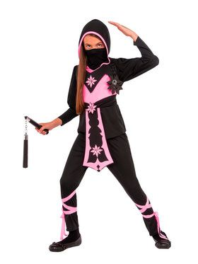 Pink Crystal Ninja Girl's Costume