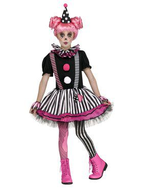 Pinkie the Clown Girls Costume