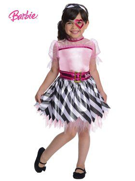 Girls Pirate Barbie Costume