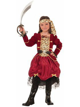Girls Pirateer Costume