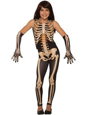 Pretty Bones Costume for Kids