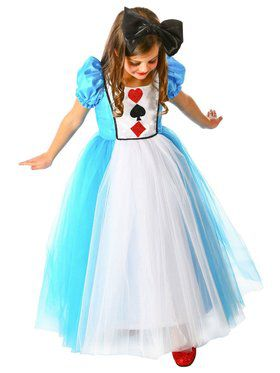 Girls Princess Alexandra Child Costume