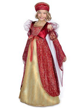Girls Princess Anne Child Costume