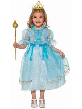 Betsy Blue Princess Girls Costume