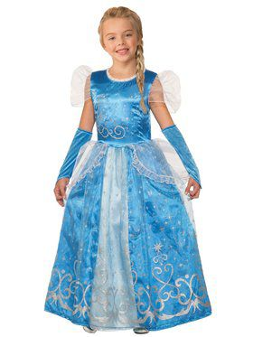 Girls Princess Celestia Blue Costume