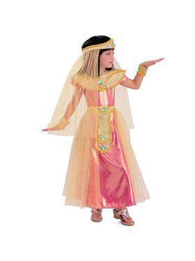Girls Princess Cleo Child Costume