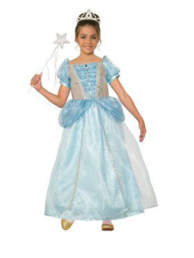 Girls Princess Holly Frost Costume
