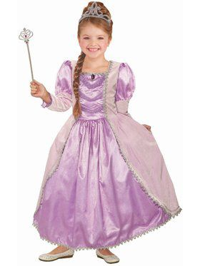 Lady Lavender Princess Girls Costume
