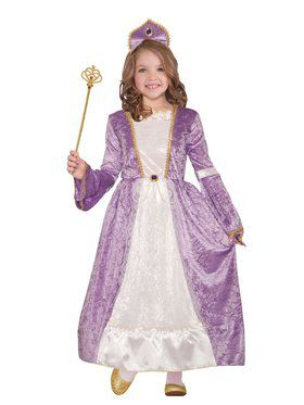 Peyton Purple Princess Costume for Kids