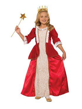 Rachel Red Princess Costume for Kids