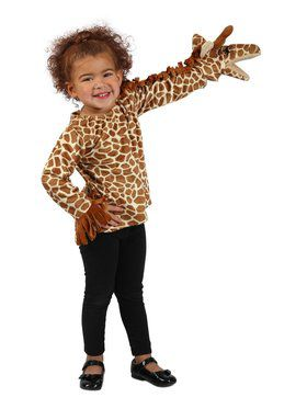 Girls Puppet Pals Giraffe Jacket
