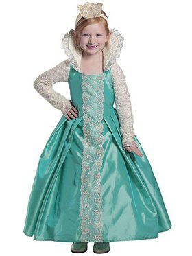 Girls Queen Evelyn Child Costume