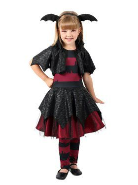Girls Rebel Vampire Child Costume