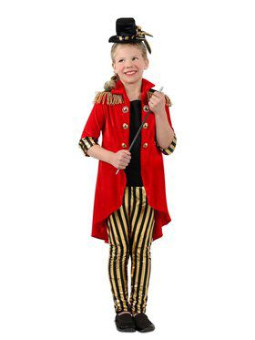 Girls Ring Leader Child Costume