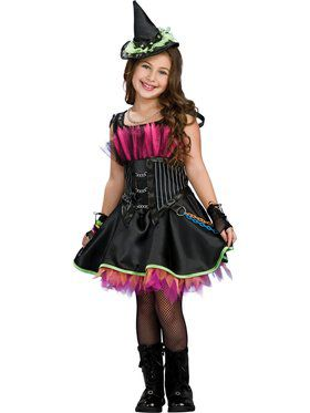 Girls Rockin Out Witch Costume