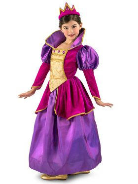 Girls Royal Jewel Princess Costume