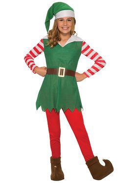 Girls Santa's Helper Costume