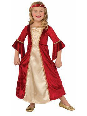 Scarlet Princess Costume for Girls