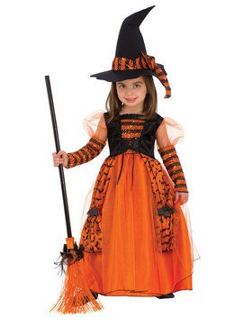 Children's Sparkly Witch Costume