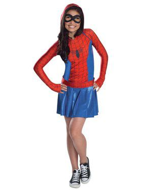 Spider Girl Costume for Kids