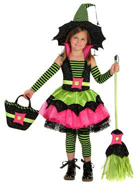 Girls Spiderina Child Costume