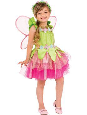 Kids Spring Fairy Child Costume