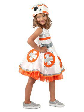 Girls Star Wars BB8 Dress