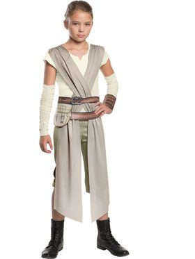Girl's Rey Star Wars Episode VII Costume