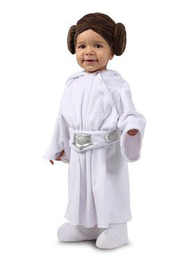 Girls Star Wars Newborn Leia Costume