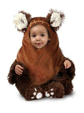 Girls Star Wars Newborn Wicket Ewok Costume