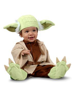 Girls Star Wars Newborn Yoda Costume