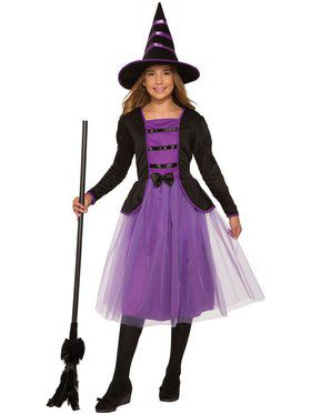 Girls Stella The Witch Costume