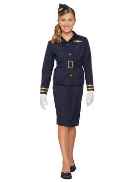 Stewardess Costume for Kids
