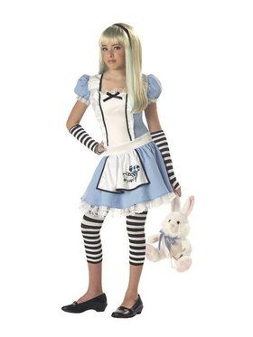 Girls Storybook Alice Costume