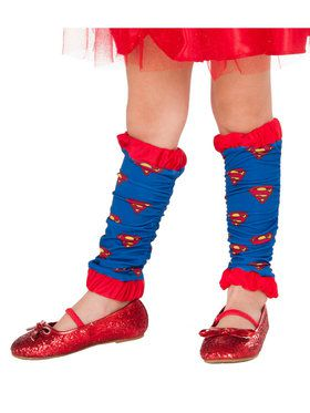 Supergirl Leg Warmers